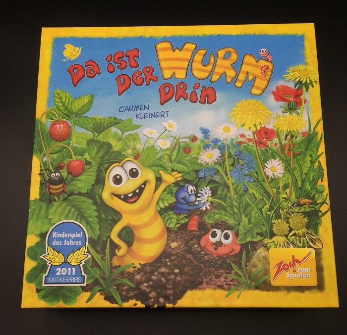 Spieletipp: Kinderspiele ab 4 Jahren - Da ist der Wurm drin