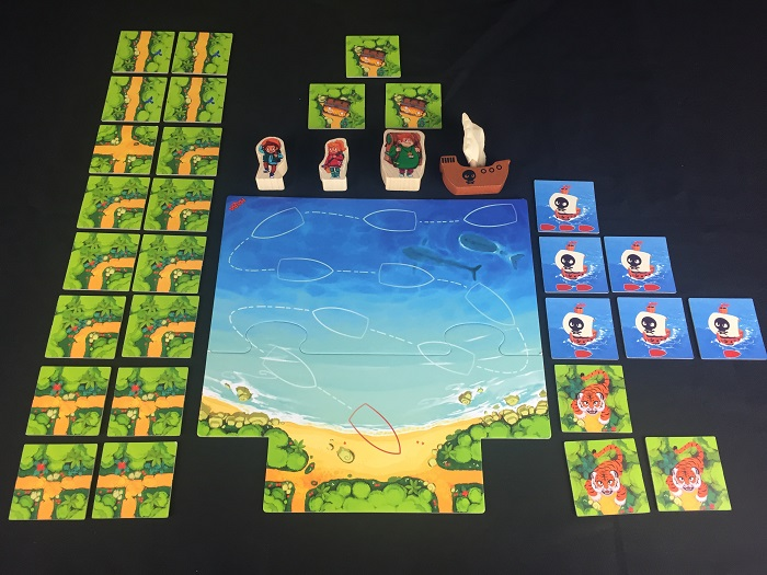 Spieletipp: Karuba Junior - Material