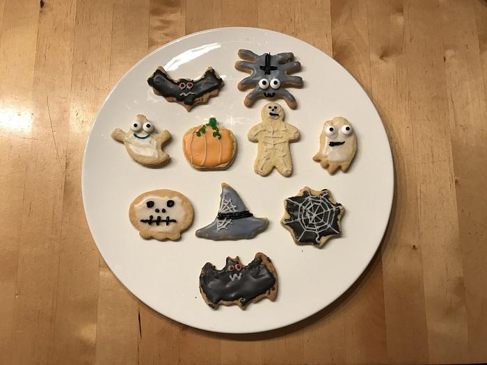 30am30 - 30 schöne Momente im November 2020 - Halloween Kekse