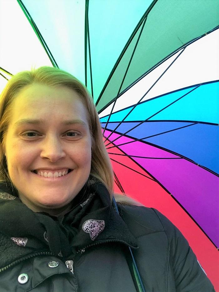 30am30 - Regebogen-Regenschirm