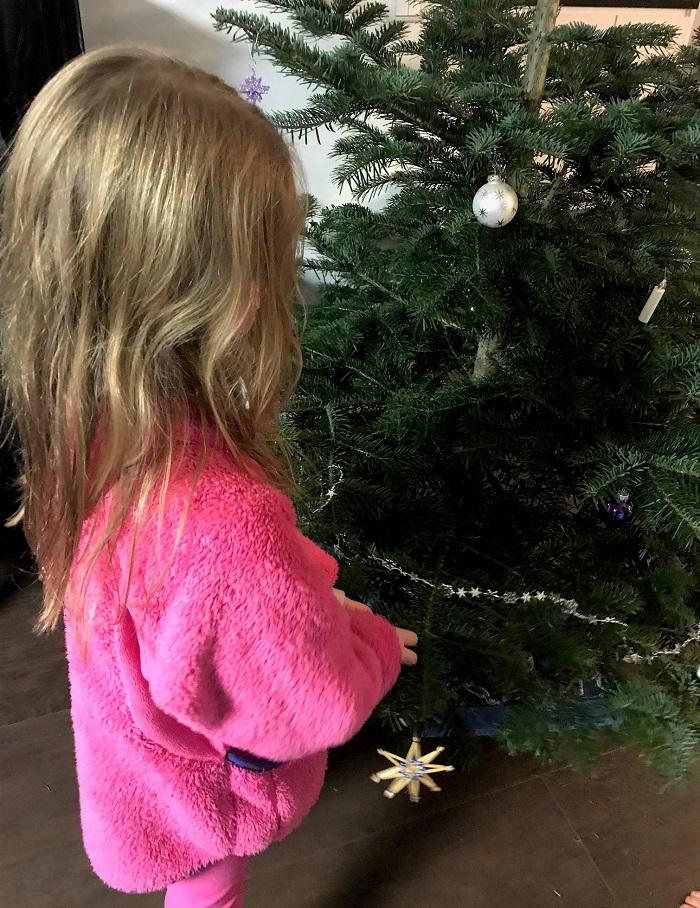 30am30 - 30 schöne Momente im Dezember 2020 - Weihnachtbaum schmücken