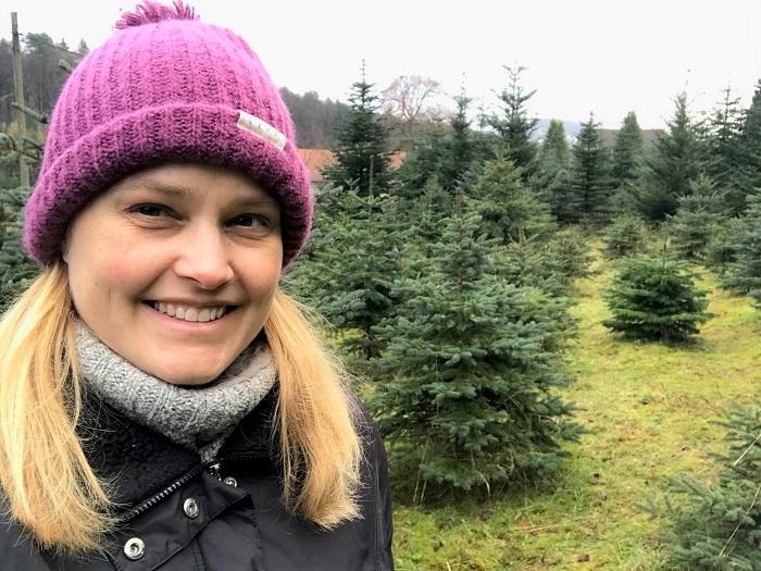 30am30 - 30 schöne Momente im Dezember 2020 - Weihnachtbaum schlagen