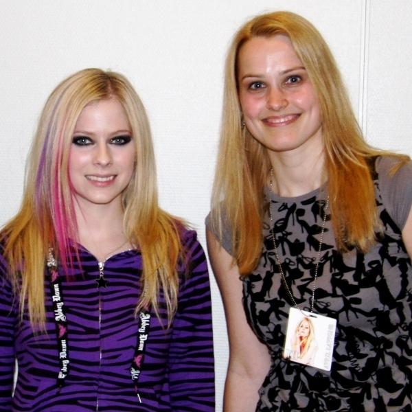 Meine Bucketlist - Lieblingssängerin Avril Lavigne treffen
