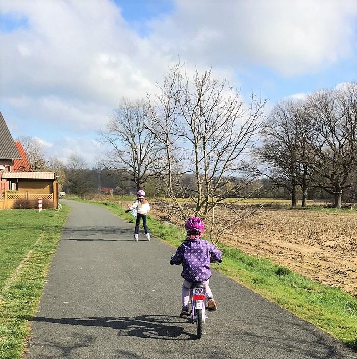 Mein Jahresrückblick 2020 - Corona mit Kindern - Fahrrad und Inliner fahren