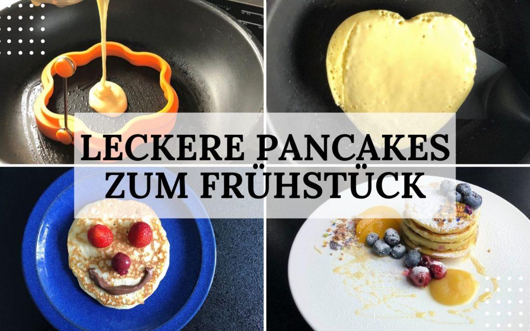 Rezept: leckere Pancakes zum Frühstück