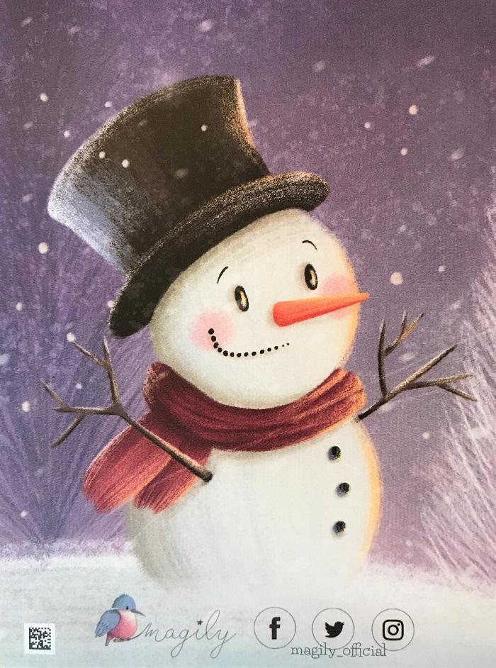 magily personalisierbares Weihnachtsbuch