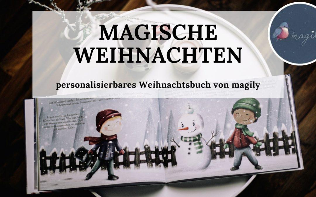 Buchtipp: Personalisiertes Weihnachtsbuch von magily
