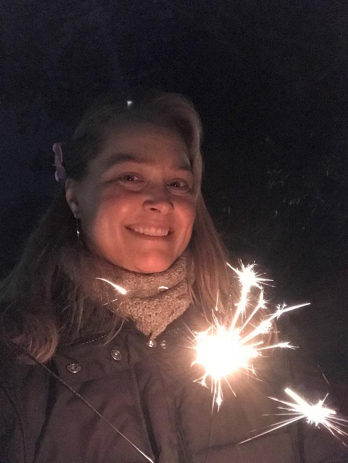 30am30 - 30 schöne Momente im Januar 2021 - Wunderkerze zu Silvester