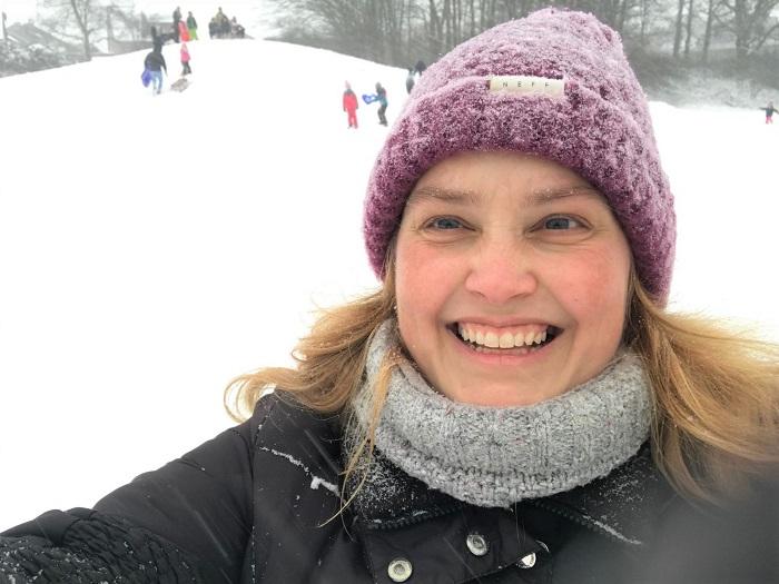 30am30 - 30 schöne Momente im Februar 2021 - Rodelberg
