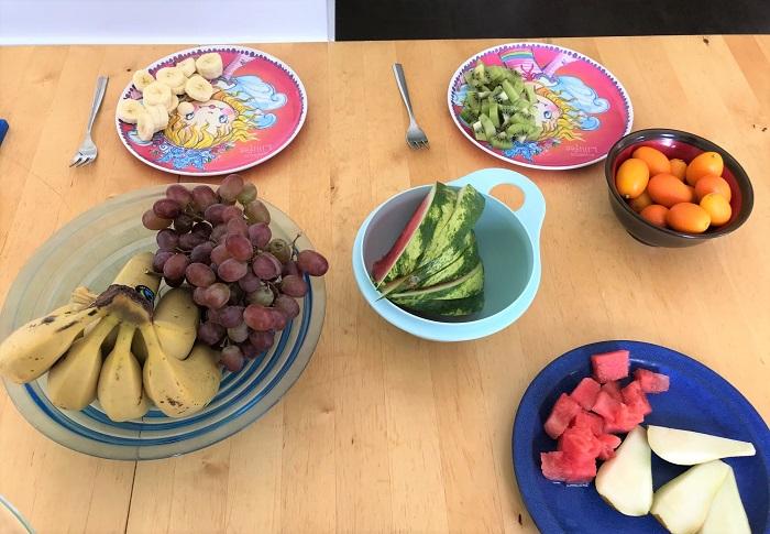30am30 - 30 schöne Momente im April 2021 - Obst essen