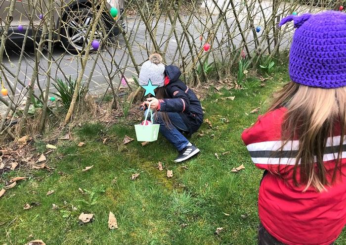 30am30 - 30 schöne Momente im April 2021 - Ostereier suchen