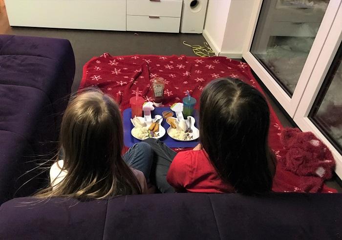 30am30 - 30 schöne Momente im Februar 2021 - Picknick im Wohnzimmer
