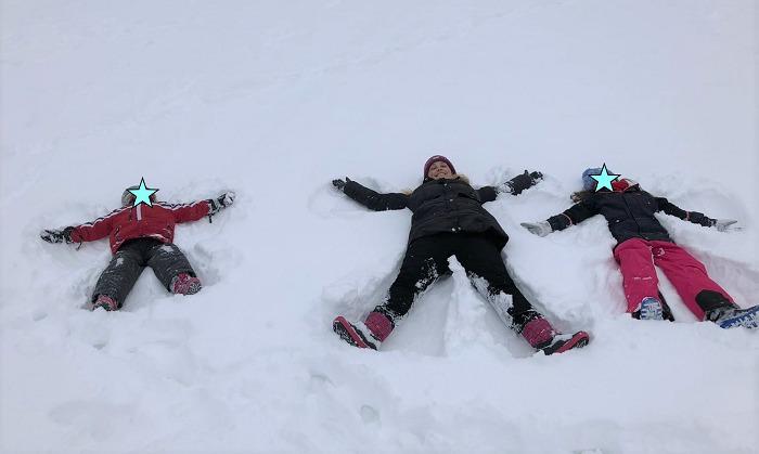 30am30 - 30 schöne Momente im Februar 2021 - Schneeengel