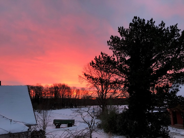 30am30 - 30 schöne Momente im Februar 2021 - Sonnenaufgang