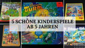 Spieletipp: Kinderspiele ab 5 Jahren - Titelbild
