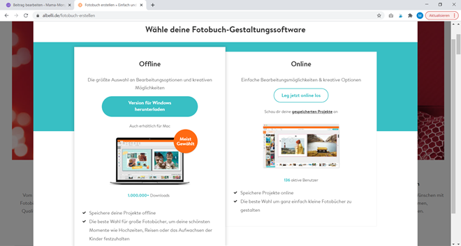 Albelli Software Screenshot