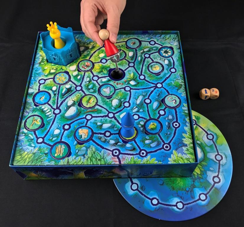 Spieletipp: Kinderspiele ab 5 Jahren - Der verzauberte Turm von Drei Magier Spiele