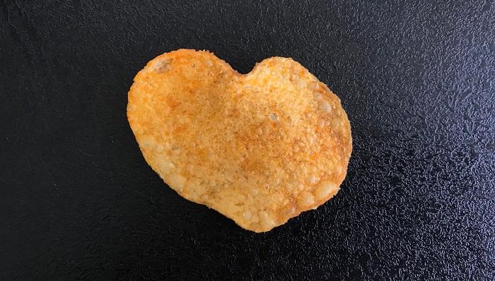 30am30 - 30 schöne Momente im Mai 2021 - Kartoffelchip in Herzform