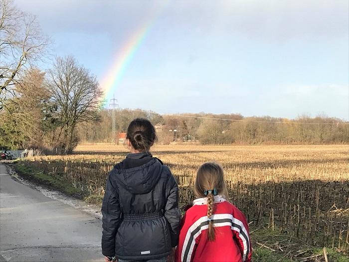 30am30 - 30 schöne Momente im März 2021 - Regenbogen