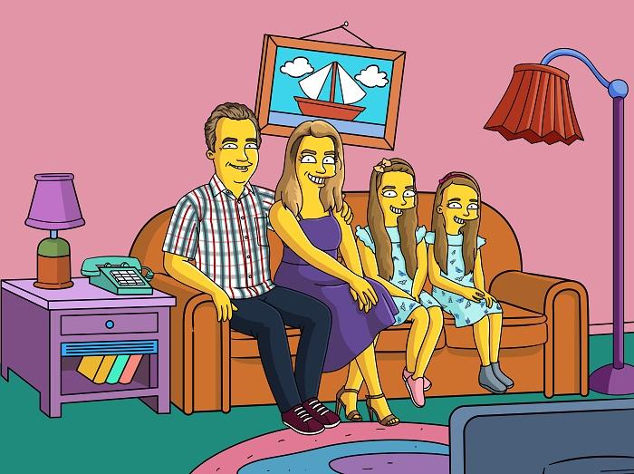 30am30 - 30 schöne Momente im Mai 2021 - Simpsons Bild