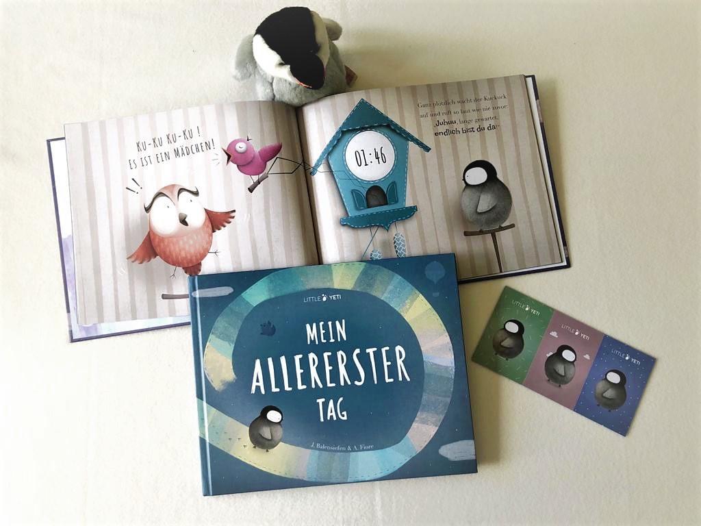 Personalisierbares Kinderbuch von Little Yeti: Mein allererster Tag