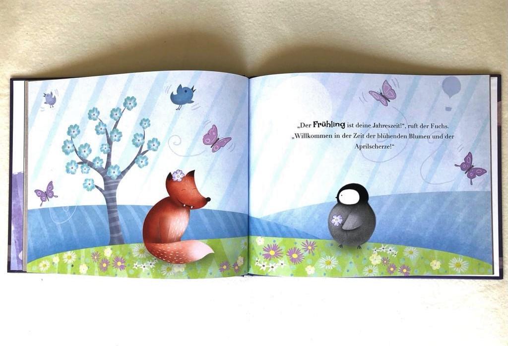 Personalisierbares Kinderbuch von Little Yeti