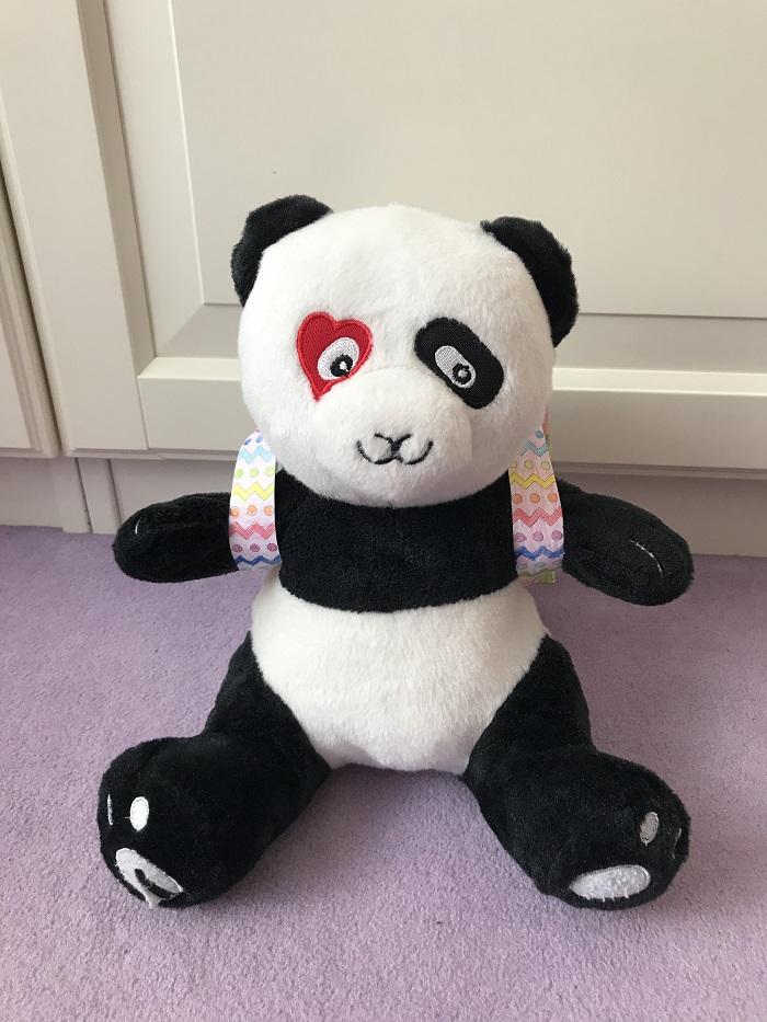 """Buchtipp """"Geliebtes Herzenskind"""" von Bianca Batanas - Panda Paul bekommt einen Rucksack"""