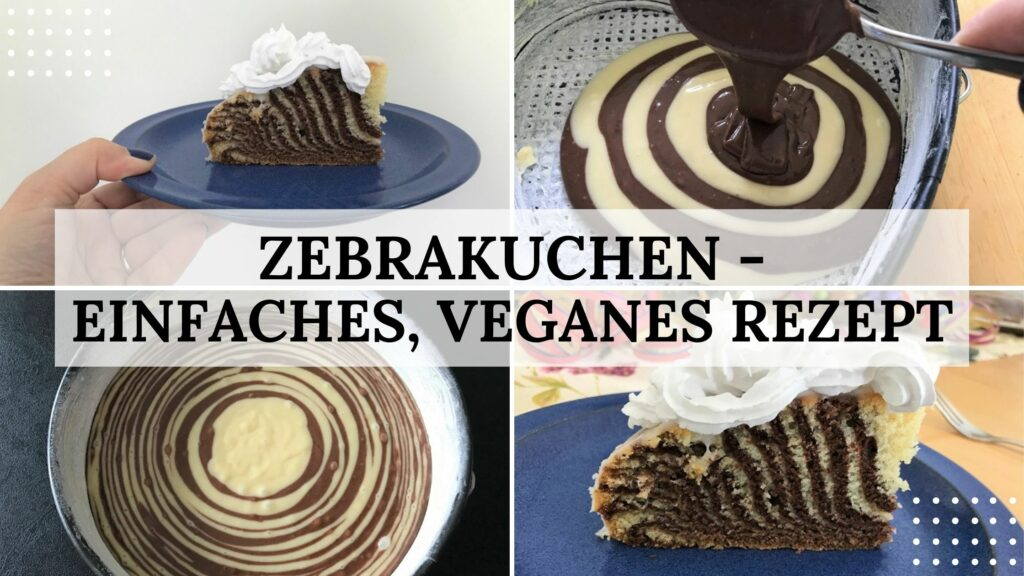 Zebrakuchen - Titelbild