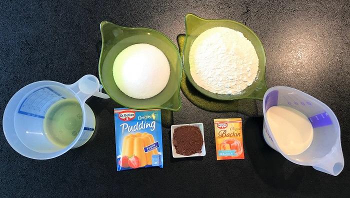 Rezepttipp: Zebrakuchen vegan - Zutaten