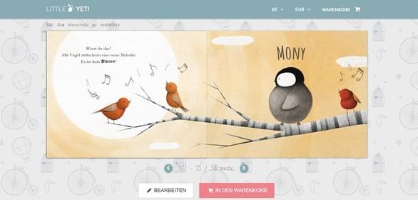 Buchtipp: Mein allererster Tag von Little Yeti - Screenshot Buchvorschau