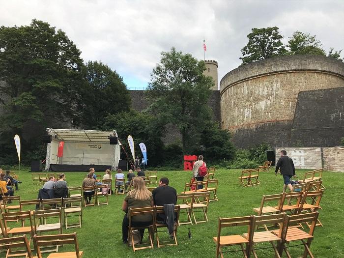 30am30 - 30 schöne Momente im Juli 2021 - Poetry Slam auf der Sparrenburg